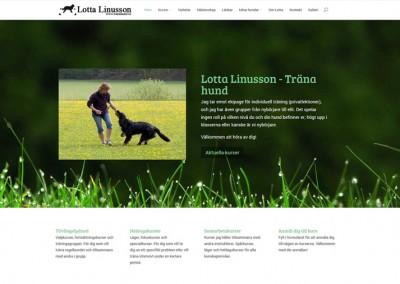 Träna hund – Lotta Linusson